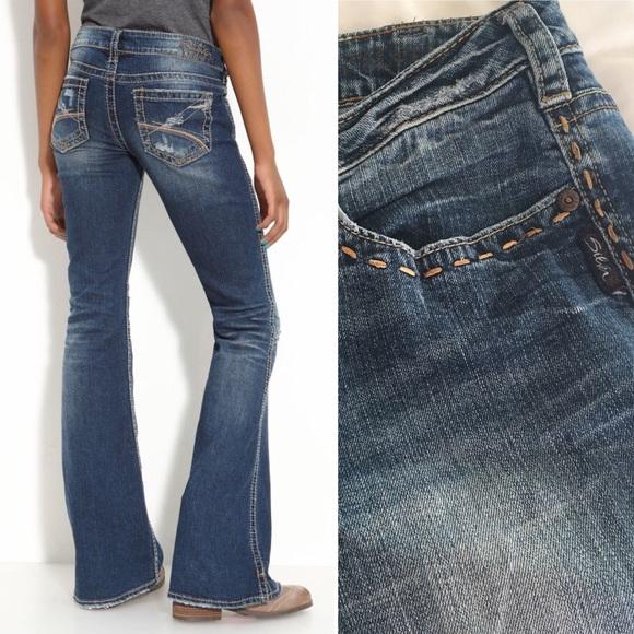 51bf3614 Silver Jeans Petite Frances Flare Leg Jeans. M_5ab504d82ab8c5ce15690767